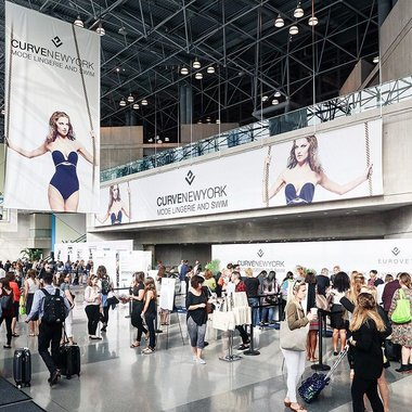 Curve New York Lingerie Messe